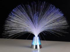 Lampe à Fibres ' Blue Ice '