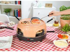 Four à pizza avec couvercle en terre cuite 6 personnes
