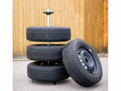 Support de rangement pour 4 roues - Pour pneus jusqu'à 225 mm
