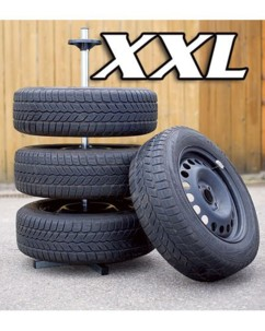 Support de rangement XXL pour 4 roues