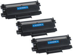 3 toners compatibles Brother TN2220 - Noir