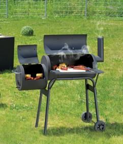 Barbecue fumoir 6 grilles