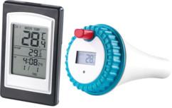 Thermomètre maison et piscine PT-300