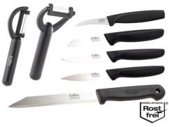 pack de 5 couteaux et 2 eplucheurs economes en acier de solingen qualité allemande loffler