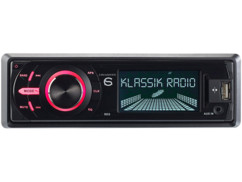 Autoradio MP3 DAB+ ''CAS-4400bt'' USB / SD / Bluetooth
