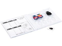Boîte de rangement pour cartes SD format CD