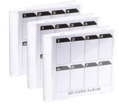 Boîte de rangement pour cartes SD format CD - x3