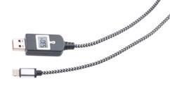 cable de chargement Lightning avec parasurtenseur intégré et optimisateur de chargement rapide