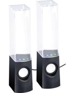 Haut-parleurs ''MSS-11.Y'' avec jeux d'eau et effets lumineux