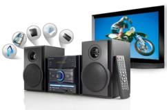 Micro chaîne stéréo DVD/USB/SD ''MHX-540.DVD''
