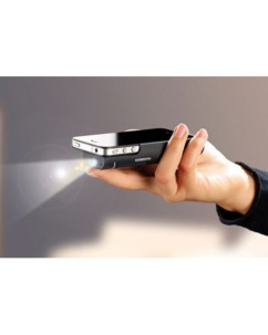 Mini-projecteur vidéo ''DL-130.L'' pour iPhone 4/4S