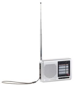 radio analogique de poche avec fréquences mondes pour voyage auvisio