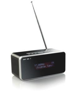 Poste de radio numérique ''DTL-23.Rd'' DAB+/FM avec réveil et RDS