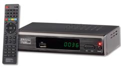 demodulateur tnt hd dtr-400 auvisio avec connexion web pour infos et entrée USB pour enregistrement