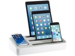 Support pour appareils mobiles avec emplacement batterie