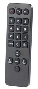 Télécommande universelle programmable à grandes touches spéciale séniors