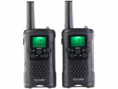 Deux talkies-walkies WT-330 Simvalley Communication.