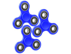 3 Hand spinners 3 branches ABEC 7 - Bleu