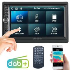 Autoradio 2-DIN avec écran tactile et DAB+ CAS-4455.bt