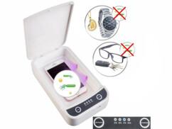 Le boîtier de désinfection UV Somikon élimine 99 % des germes, bactéries et acariens.