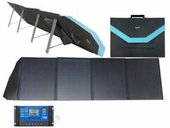 Panneau solaire mobile pliable 200W avec régulateur de charge 20 A