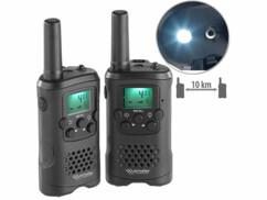 Talkies-walkies avec fonction VOX, portée 10 km WT-320