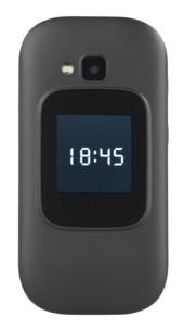 telephone grandes touches senior a clapet avec double ecran appel d'urgence sos secours et contacts avec photos xl-965
