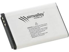 batterie de remplacement pour telephone a clapet simvalley xl947
