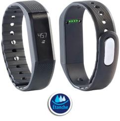 Bracelet fitness FBT-55.W avec affichage des notifications et bluetooth