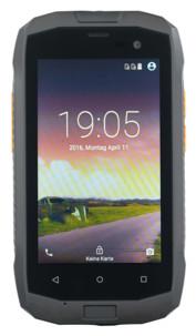 smartphone antichoc dual sim avec android 5.1 SPT-940 simvalley
