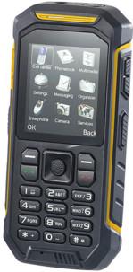 téléphone portable outdoor double sim avec fonction talkie walkie XT-820 simvalley