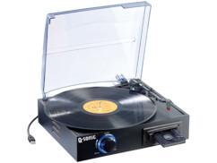 Tourne-disque et lecteur de K7 USB avec encodeur MP3 ''UPM-700''