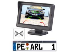 Caméra de recul sans fil universelle pour autoradio vidéo - Avec écran