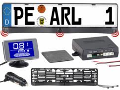 Capteur de recul sans fil à ultrasons, avec écran LCD