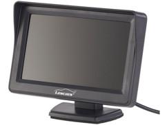 moniteur LCD 4 pouces inclinable pour camera de recul toutes marques tous modèles lescars