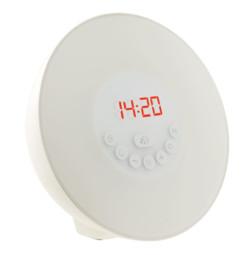 """Radio-réveil lumineux """"Wake-up"""" avec sons de la nature - Bluetooth"""