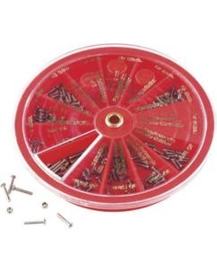 Kit d'outils horlogerie & optique avec 241 pièces