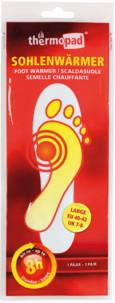 Thermopads semelles chauffantes taille M/L (1 Paire)