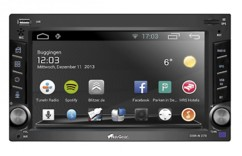 Autoradio Android 2 DIN '''DSR-N 270'' avec fonctions GPS / wifi / Bluetooth