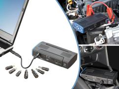 Batterie d'appoint 5 en 1 (12A) avec fonction démarreur de secours pour voiture