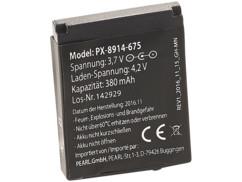 Batterie de rechange 350 mAh / 3,7 V pour smartwatch PW-440