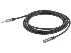 Rallonge 2 m audio stéréo jack 3,5 mm - Auvisio