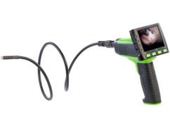 Caméra endoscopique avec moniteur sans fil amovible enregistrement sur carte SD