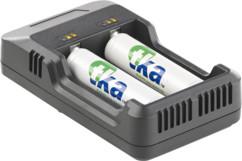 chargeur usb pour accumulateurs accu ronds tous formats AA, AAA, 26650, 18650