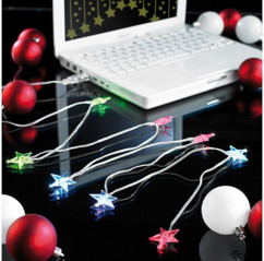 Guirlande USB ''Stars'' Led Multicolore