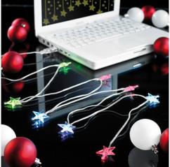 Guirlande USB ''Stars'' Led Multicolore