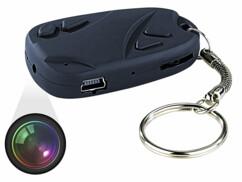 Mini caméra vidéo sur porte-clés
