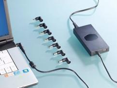 Set de 10 connecteurs adaptateurs pour chargeur universel de PC portable ReVolt