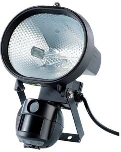 Spot halogène 500 W avec caméra et détecteur de mouvement