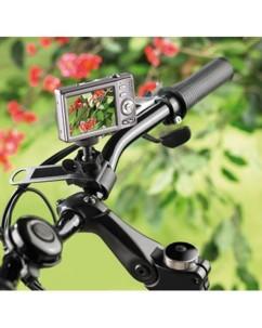 Support pour appareil photo sur guidon de vélo